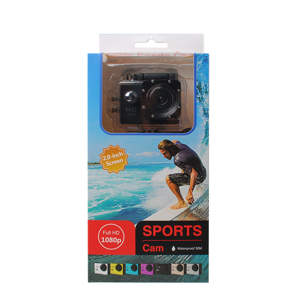 Waterproof Sport Action Camera Camcorder- White